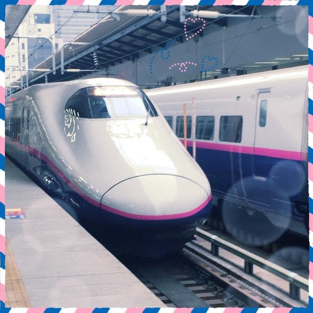 新幹線でGO🚄❗️