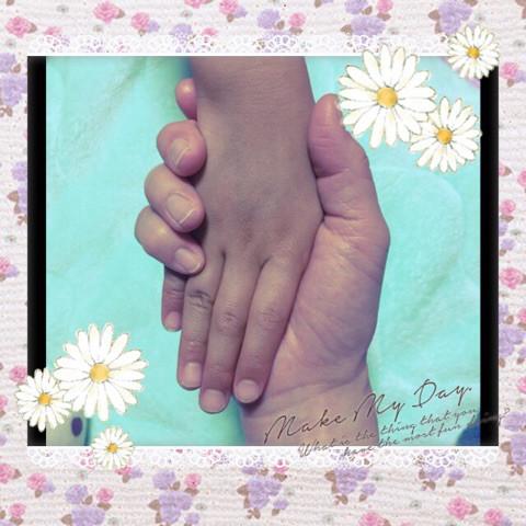 手の成長とハンドケア